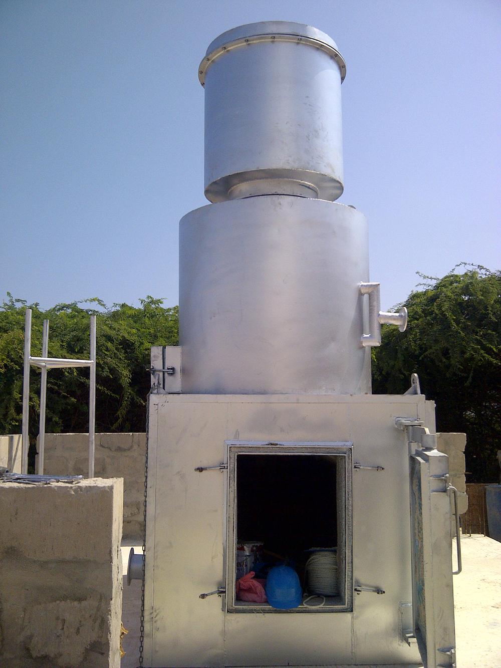 300 kg incinerator