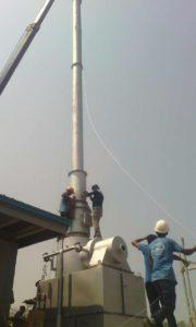 incinerator installation demo