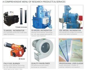 laboratory incinerator china manufacturer