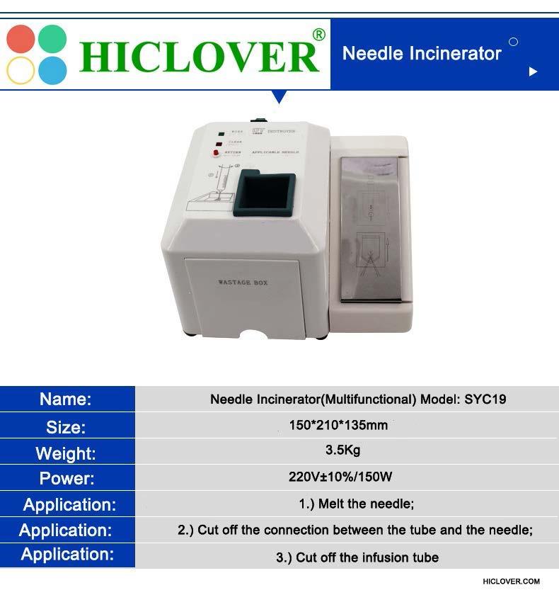 HICLOVER Needle Incinerators-Syringe and Destroyer-Needle Destroyer